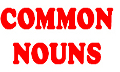 Common Nouns in English