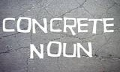 Concrete Nouns in English