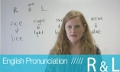R and L sounds pronunciation with Ronnie